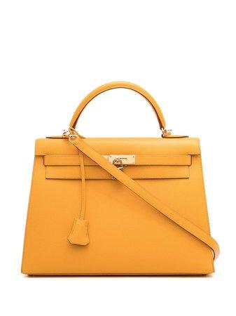 Hermès Sac à Main Kelly Sellier pre-owned (2002) - Farfetch