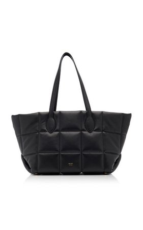 Florence Quilted Leather Tote By Khaite   Moda Operandi