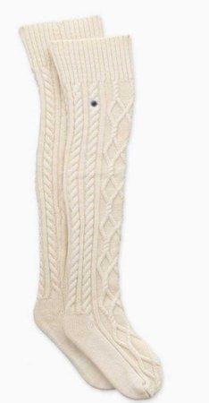 Ugg Cable knit socks