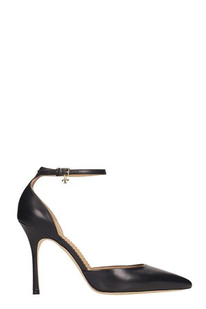 Tory Burch Penelope Pumps In Black Leather