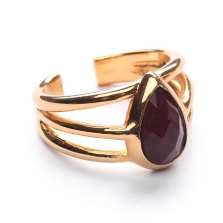 Ori Tao Fakir-Burgundy Ring