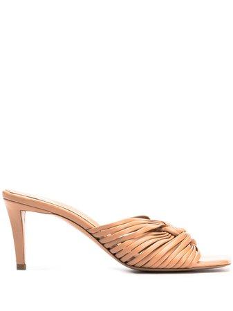 Neutral Stella Mccartney Stiletto Heeled Sandals   Farfetch.com