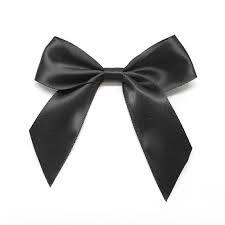 black ribbon bow - Google Search