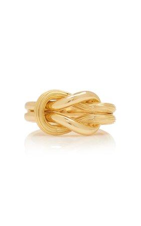 Ilias Lalaounis 18K Gold Hercules Knot Ring