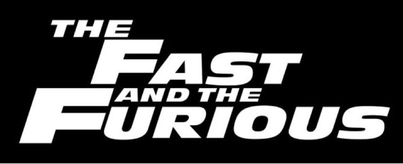 The Fast and the Furious (movie 1) Logo