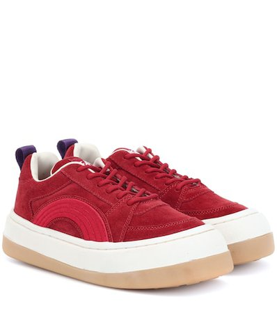Sonic suede sneakers