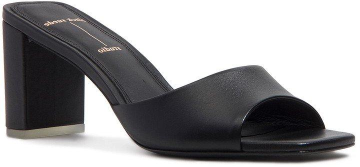 Delia Block Heel Sandal
