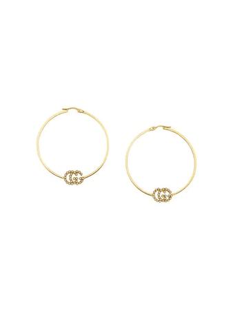 70's hoop earrings png