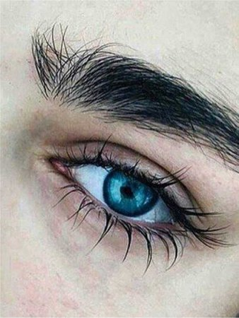 blue aesthetic eyes