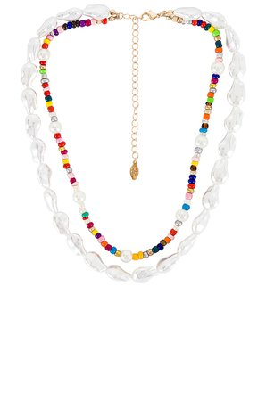8 Other Reasons Capsize Necklace in Multi | REVOLVE