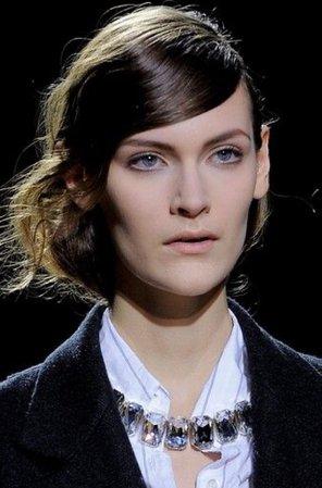Paris fashion week make-up