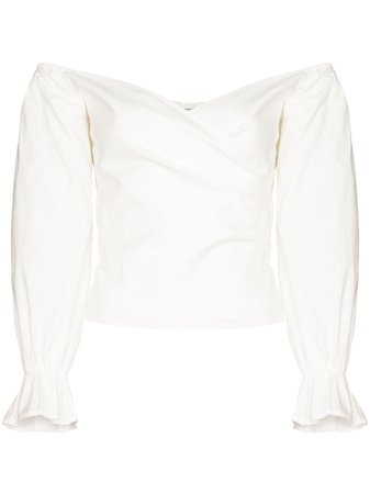 Reformation Ristretto off-the-shoulder Blouse - Farfetch