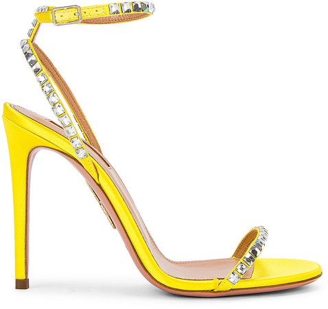 Very Vera 105 Sandal in Fluo Yellow | FWRD