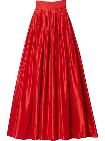 Carolina Herrera high-waisted Gown Maxi Skirt - Farfetch