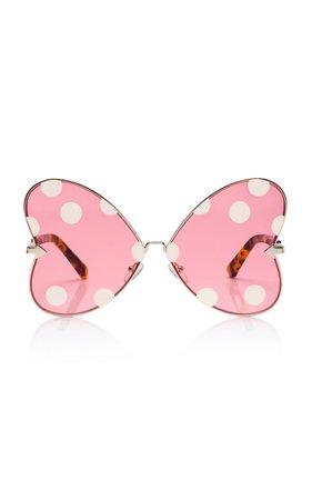 Minnie Bow Oversized Sunglasses by Karen Walker X Disney | Moda Operandi