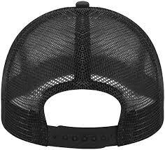 black trucker hat backwards - Google Search