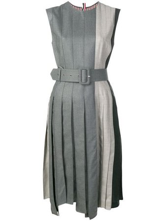 Thom Browne Fun-Mix Wool Midi Dress $1,638 - Buy Online - Mobile Friendly, Fast Delivery, Price