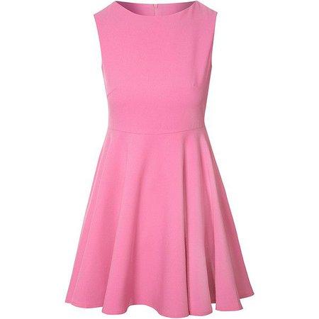 Light Pink Skater Dress