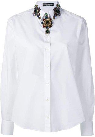 jewel neckline shirt