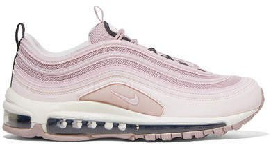 Air Max 97 Leather And Mesh Sneakers - Lilac