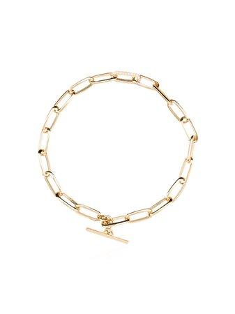 Lizzie Mandler Fine Jewelry 18Kt Gold Chain Link Bracelet | Farfetch.com