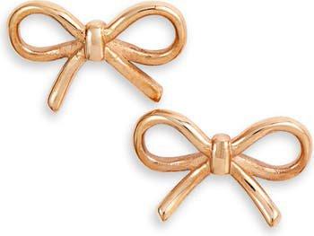 Knotty Bow Stud Earrings | Nordstrom