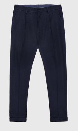 navy blue trouser