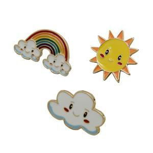 Kawaii Sky Friends Enamel Pins – Supernormal Stimuli