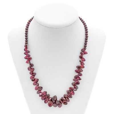 Garnet Gemstone Necklace | Mystic Self LLC