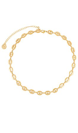 Cloverpost Bay Necklace in Yellow Gold | REVOLVE