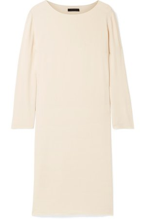 The Row | Larina crepe dress | NET-A-PORTER.COM