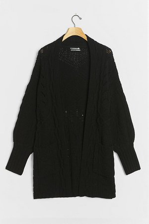Katherine Cable-Knit Cardigan | Anthropologie
