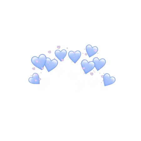 Sky Blue and Pink Hearts Filler