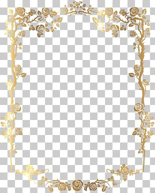 Computer file, Gold pattern frame, gold ornate frame template PNG clipart | free cliparts | UIHere