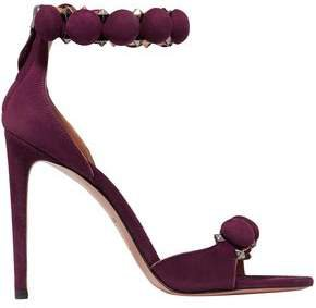 Bombe 110 Studded Suede Sandals