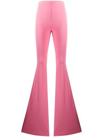 Balmain Pantalon Évasé à Taille Haute - Farfetch