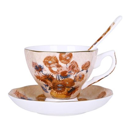 van gogh teacup
