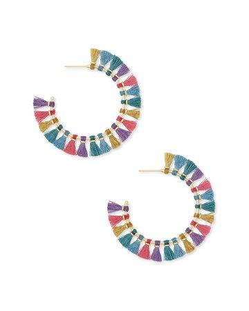 Evie Hoop Earrings | Kendra Scott