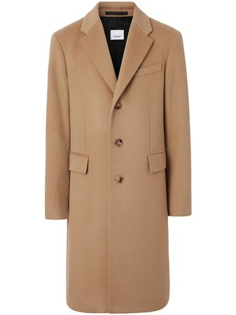 Burberry Wool Cashmere Tailored Coat - Farfetch
