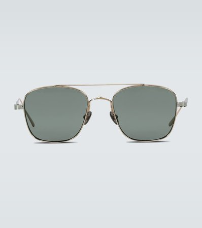 Square-Framed Sunglasses | Cartier Eyewear Collection - Mytheresa