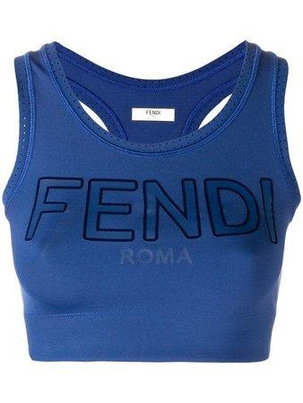Fendi sports crop top