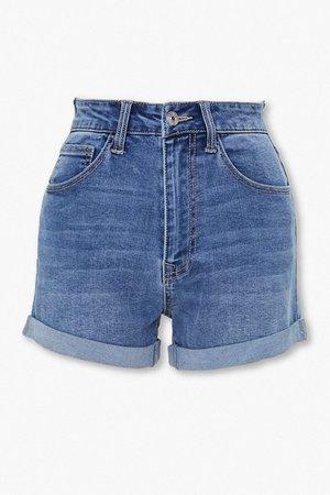 Curvy Denim Shorts | Forever 21