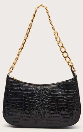 Chain Black Bag
