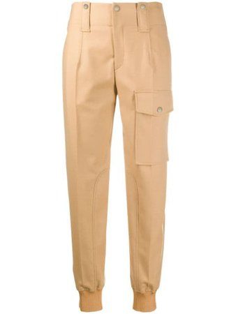 Chloé tapered cargo trousers - FARFETCH