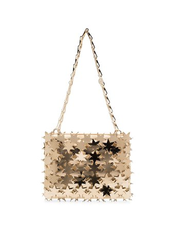 Shop gold Paco Rabanne Comet star 1969 shoulder bag with Express Delivery - Farfetch