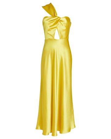 Racil Tangier Twisted Midi Dress   INTERMIX®