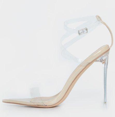 nude perplex heels