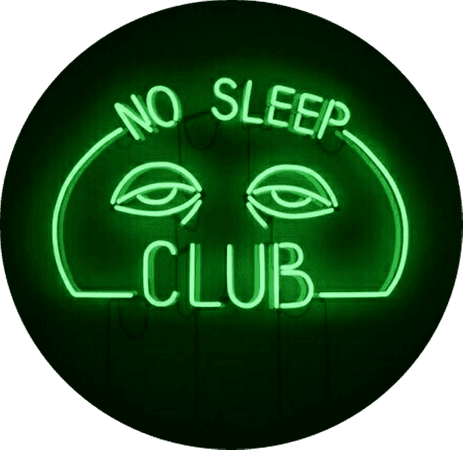 No Sleep Club (green)