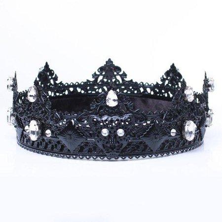 NOÈLE Black Panther Crown Male Crown - olenagrin