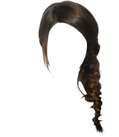 clipart hair brown black hair
